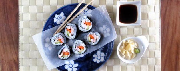 Sushi Rice in the Pressure Cooker
