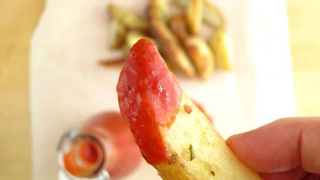 real ketchup from real tomatoes!