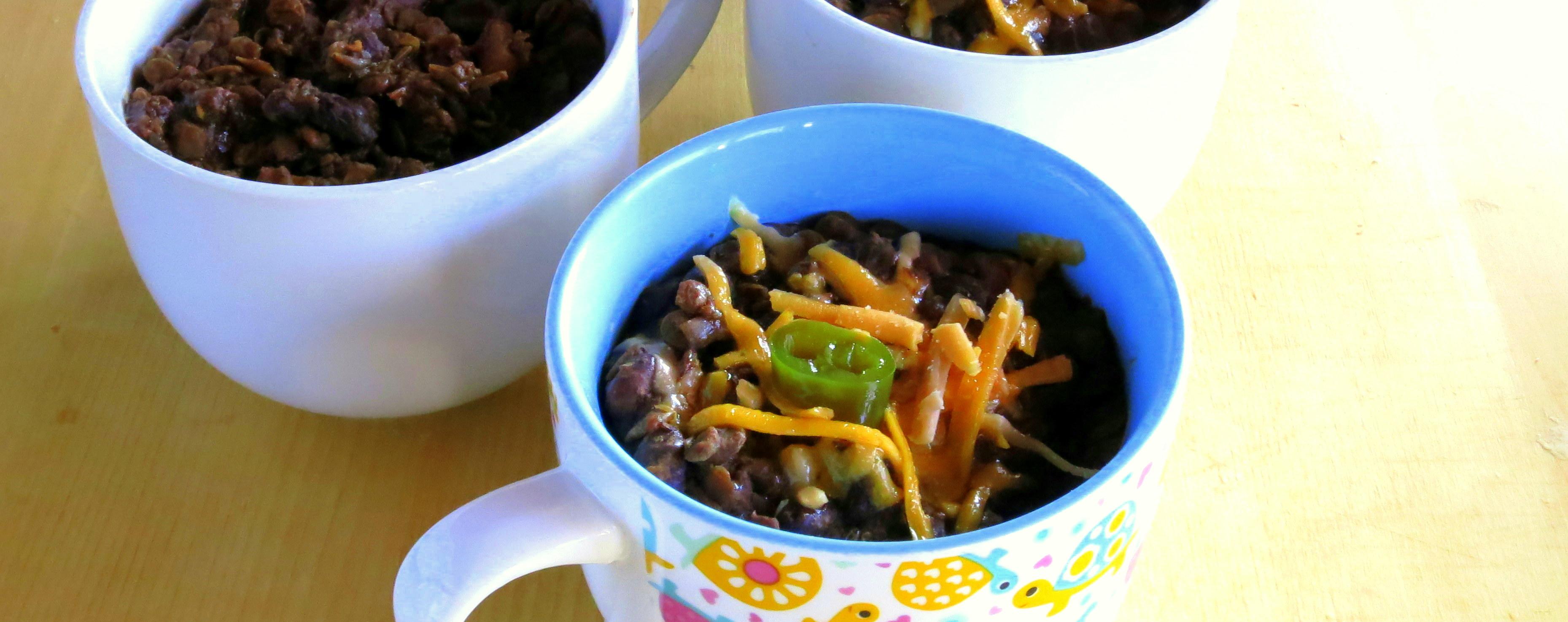 Black Bean & Lentil Chili - pressure cooker recipe ~ hip pressure ...