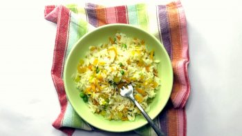 Pressure Cooker Confetti Rice Recipe