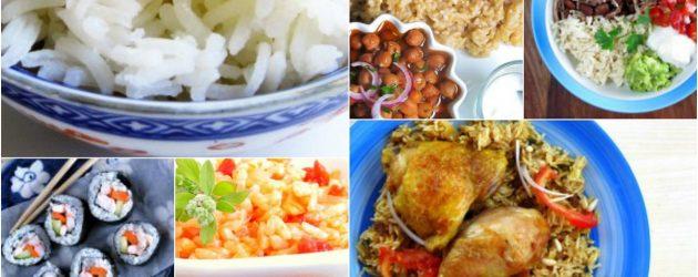 Pressure Cooker Rice Recipes